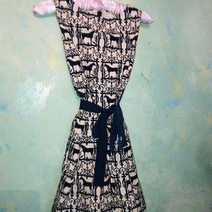 Crewcuts Dresses - Girls Size 10 horse print Crew Cuts dress!